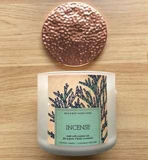 Bath & Body Works Scented Candle Incense