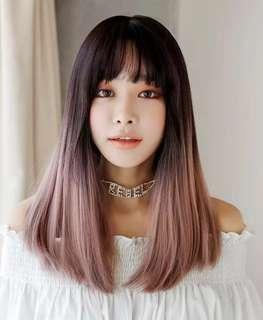 Ombré Lilac Purple Hair Wig