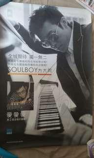 [親筆簽名] 方大同 - This Love CD Poster 海報