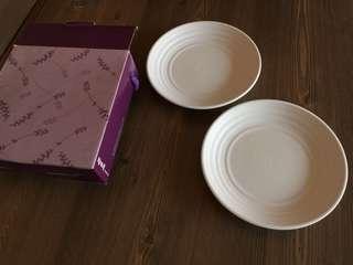 🚚 陶板屋 白瓷盤子