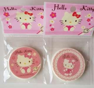 🚚 ✔50% Followers 2nd piece!✔Authentic Japan Sanrio Original Hello Kitty Make up Comestics Foundation/ Powder Puff