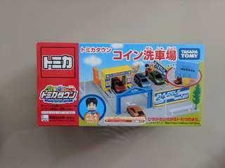 Tomica town carwash self car wash Takara Tomy