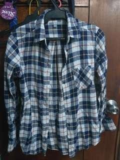 Uniqlo Plaid Flannel Long Sleeves