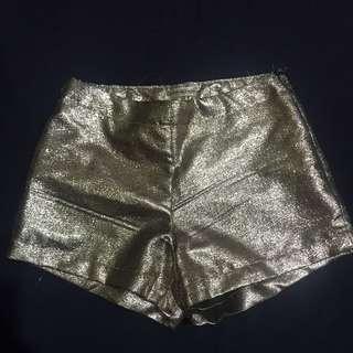 Kim Chui Gold Shorts
