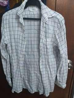 Uniqlo Plaid Long Sleeves
