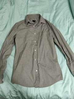 H&M Men Grey Shirt