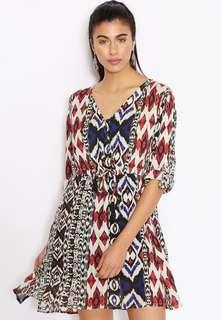 MANGO Tribal Dress