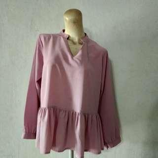 Blouse Pink ungu