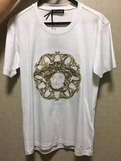 🚚 Versace Gold Medusa Tee