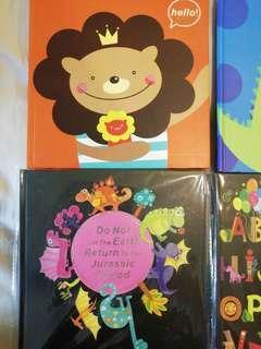Small cute notebook Rm3 each