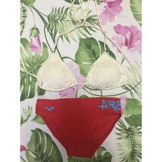Thailand bikini bra and Arena bottom
