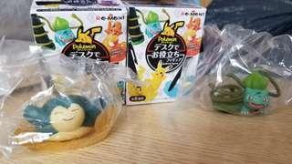 pokemon desktop figure卡比獸 奇異種子 日本