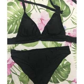 Sassa braided bikini black