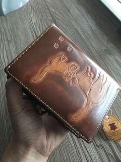 🚚 Yoshizawa leather wallet