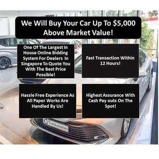 Sell Or Scrap Your Car! Cash Payout Immediately!