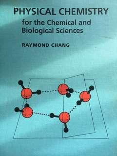 Physical Chemistry by Raymond Chang