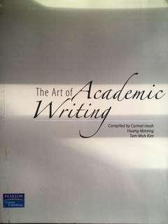 The Art of Academic Writing