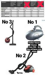 Forbes Vacum Cleaner