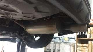 Tom's Exhaust for Axio
