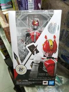 全新原裝行貨 ShF SHFiguarts 幪面超人 電王 Den 0 20th Kamen Rider kicks version 可動figure