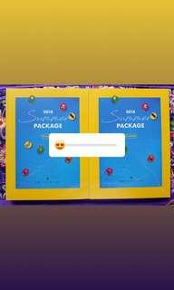 BTS SUMMER PACKAGE 2018 PHOTOBOOK SEALED