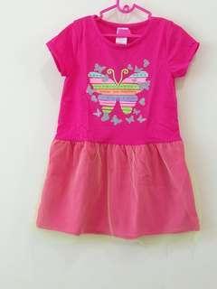 Tutu Dress Anak 3 Tahun Ice Cream Flowery and Butterfly