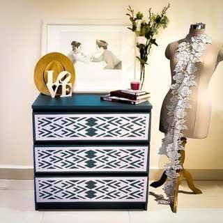 Peek A Boo MALM Furniture Kits -Overlay Panels