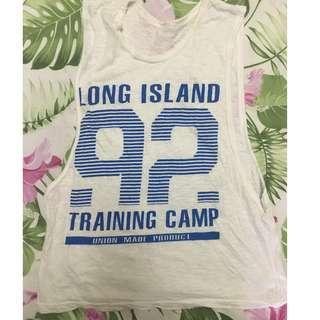Union Island muscle top sleeveless