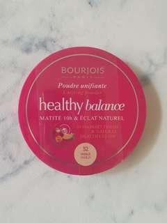 Bourjois Healthy Balance Unifying Powder 52 Vanilla
