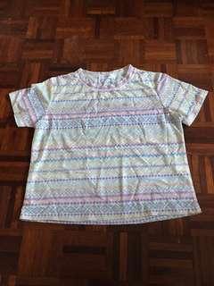 Colourful blouse