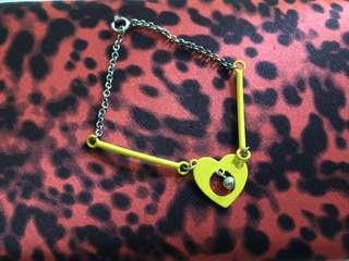 Marc Jacobs Young Heart Bracelet