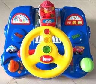 嬰兒有聲駕駛玩具