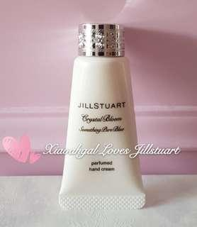 🚚 LIMITED EDITION SIZE Authentic Brand New Jill Stuart Something Pure Blue Perfumed Handcream EDP