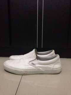 Vans Slip On All White