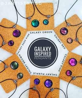 🚚 Colour Change Galaxy Necklaces VALENTINES DAY BIRTHDAY GIFT
