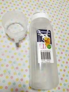 Water bottle 1.1litre