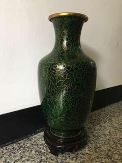 🚚 景泰藍花瓶