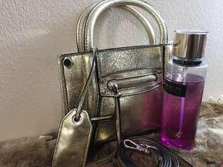 H&M Authentic Gold Sling Bag
