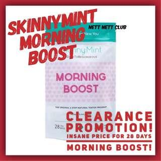 🚚 *NEW!* SkinnyMint 28 Days Morning Boost / Slimming / Detox / Energy Booster / #CarouPay