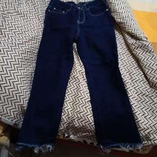 Folded&Hung Denim Pants