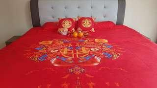 Wedding Bedsheets for Anchuang