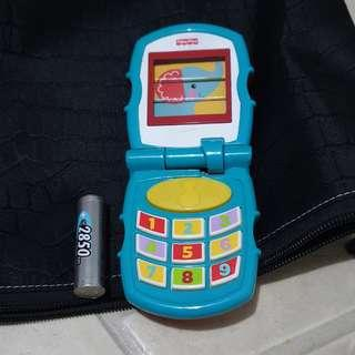 Preloved Fisher Price Cellphone toy with sounds