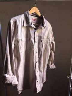 Vintage Cream Levi's Shirt
