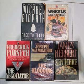 English Novel Story Books