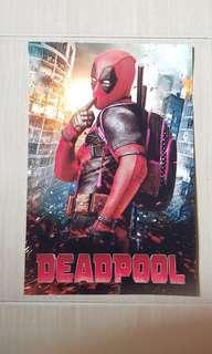 HD Marvel Deadpool poster