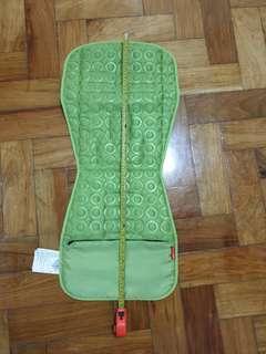 Skip hop stroller pad in light green