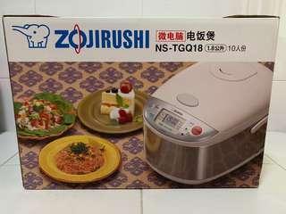 Zojirushi rice cooker 1.8L BNIB