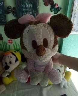 Preloved Imported Stuff Plush Toys Minnie Mouse Winnie The Pooh Snoopy Etc From Japan