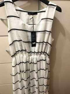 台灣queen shop雪紡長身裙