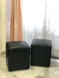 Cushioned stools